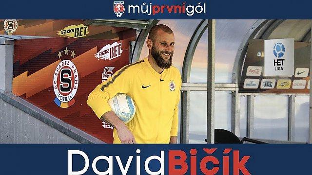 Můj první gól: David Bičík