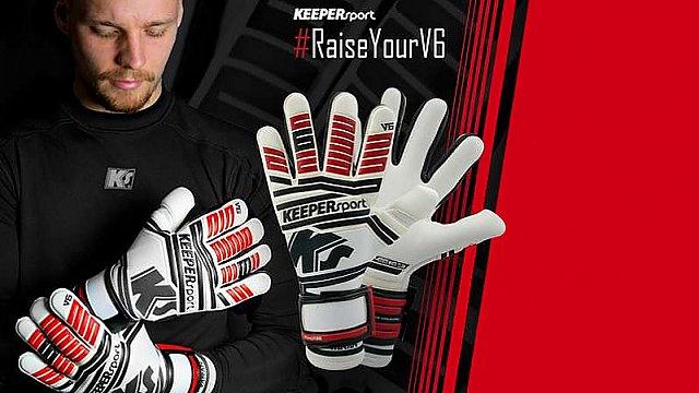 Soutěž o brankářské rukavice KEEPERsport Varan 6